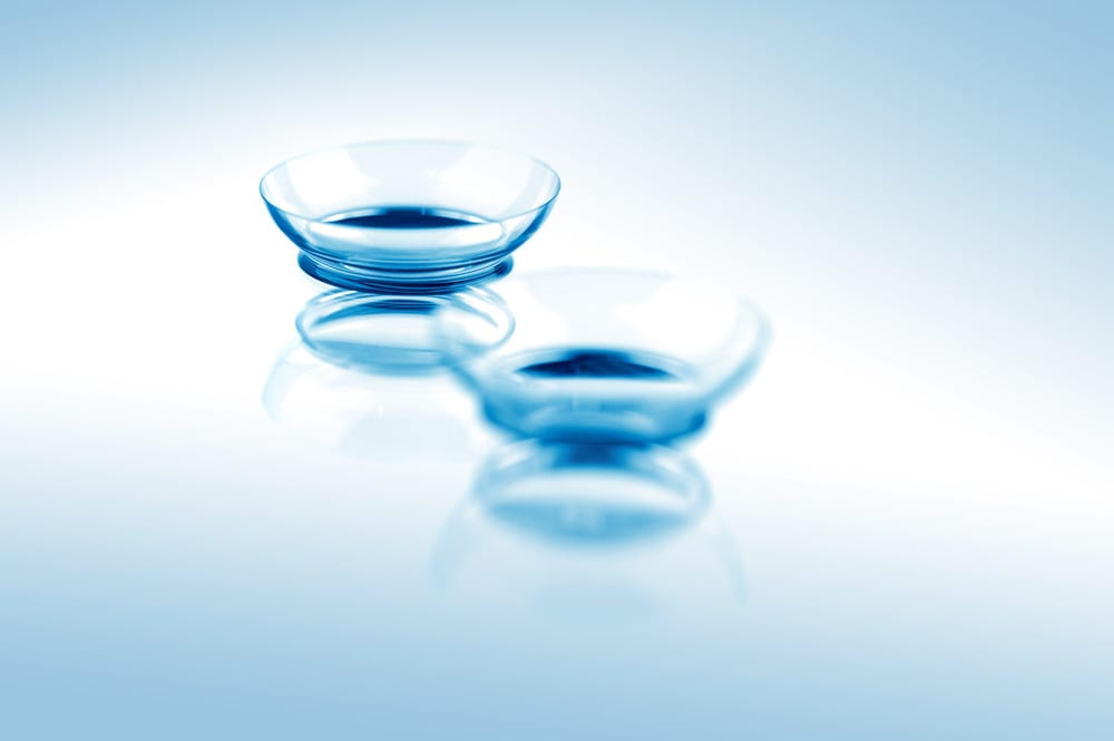 Contacts on flat surface